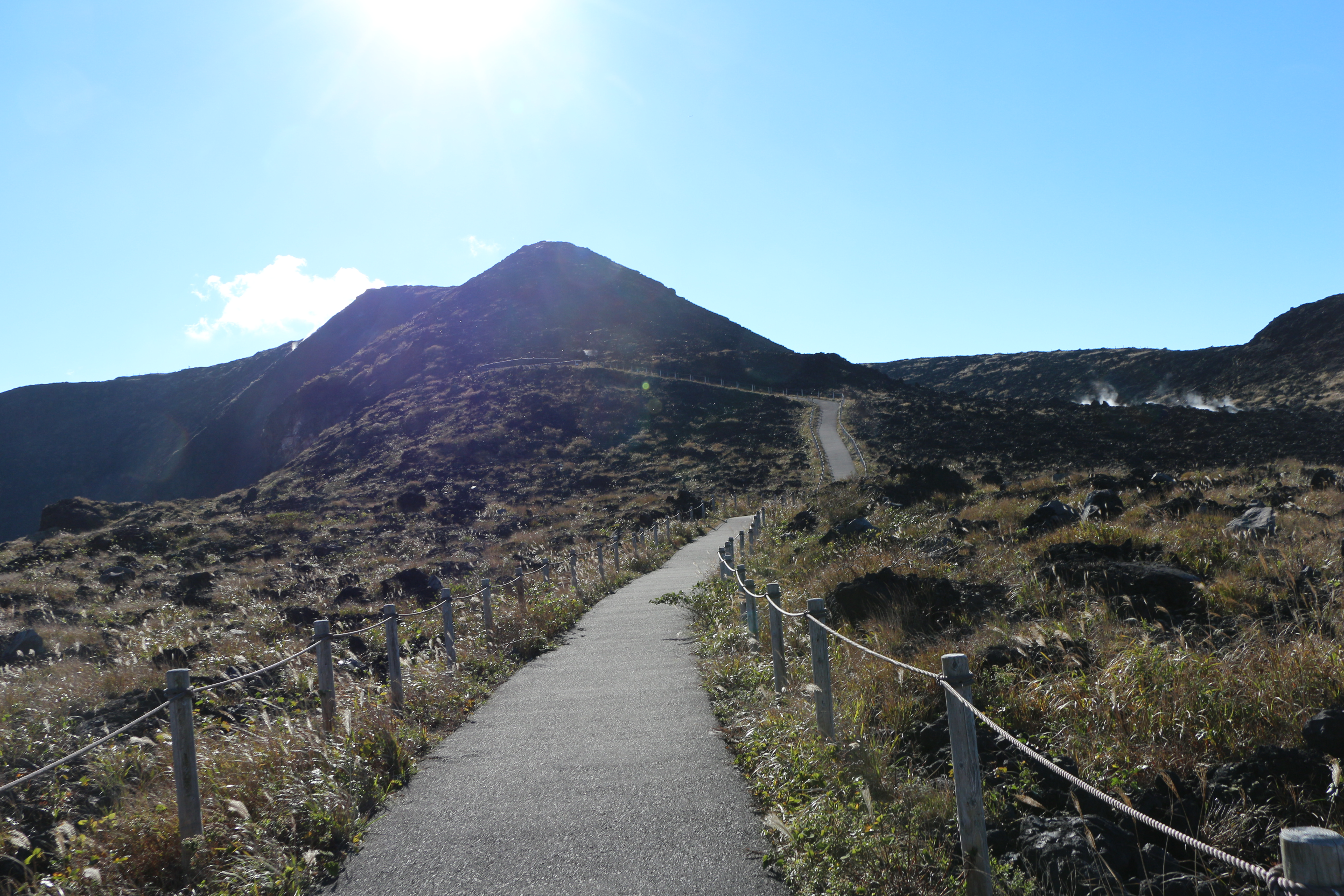 Hiking on Mt. Mihara: feel connected with volcanoes and forests