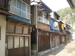 typical Izu Island street-scape of yore