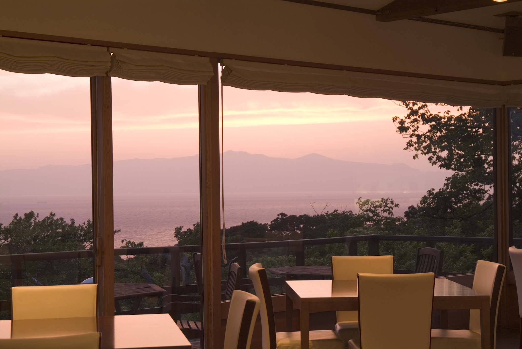 your view from the restaurant