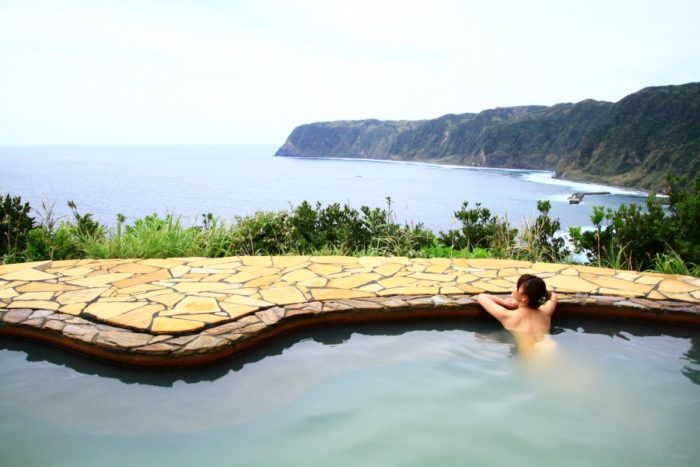 A hot springs in Tokyo Islands discovery guide