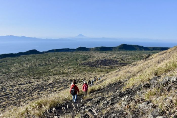 Adventure Tourism Possibilities in Japan – A report of a tour on Volcanic Island Oshima